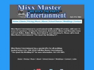 Mixx Master Entertainment